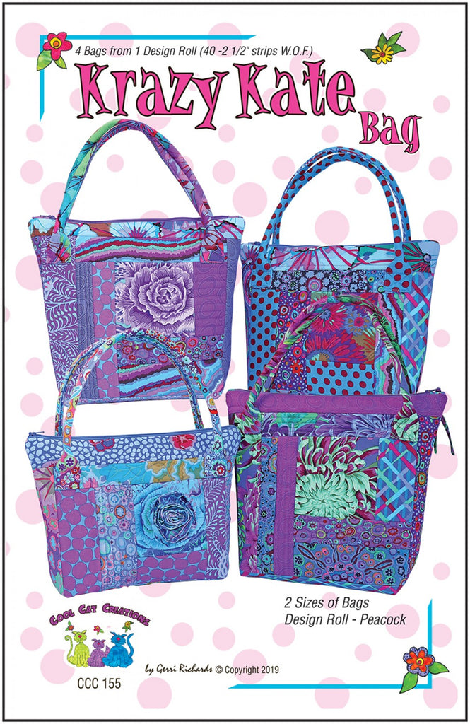 GIRLS NIGHT OUT WINE TOTE SEWING PATTERN by The Sweet Tea Girls Patterns NEW