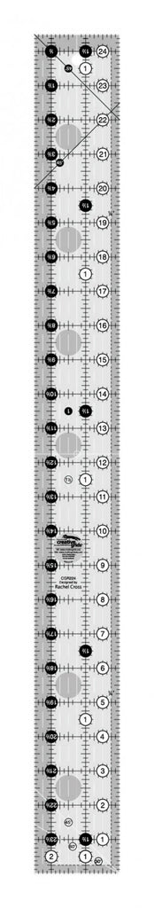 Creative Grids Quilt Ruler 2-1/2in x 24-1/2in