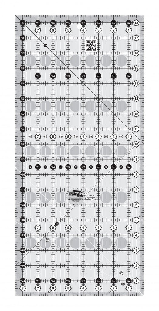 Creative Grids Quilt Ruler 8 1 2in X 18 1 2in