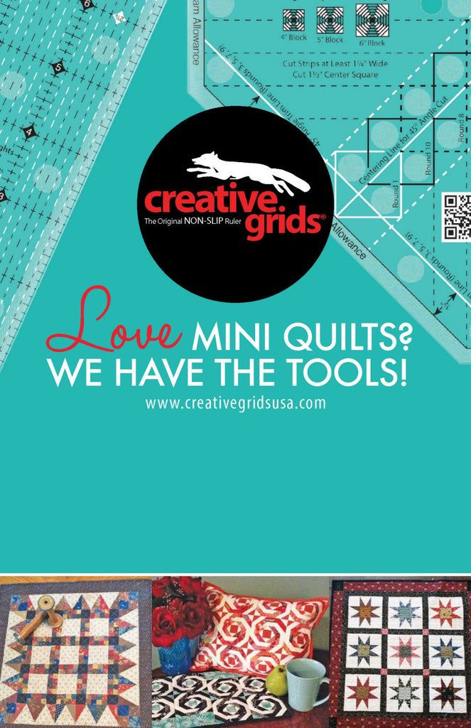 LOVE Mini Quilts?  We have the tools !