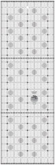 Creative Grids Itty-Bitty Eights Rectangle XL 8in x 24in Quilt Ruler