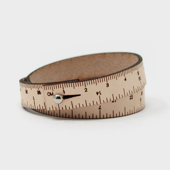 17in Wrist Ruler - Natural