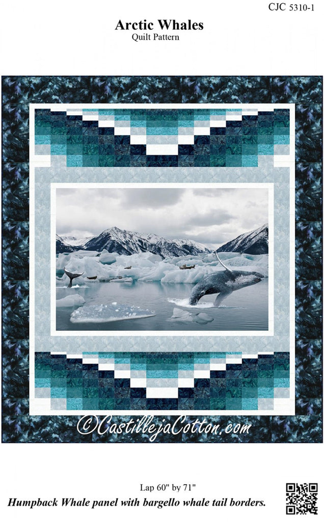Arctic Whales Pattern Quilting Books Patterns And Notions