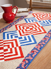 Glory In the Cabin Table Runner