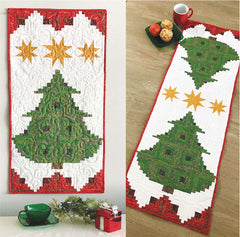 Pine Tree Banner or Table Runner