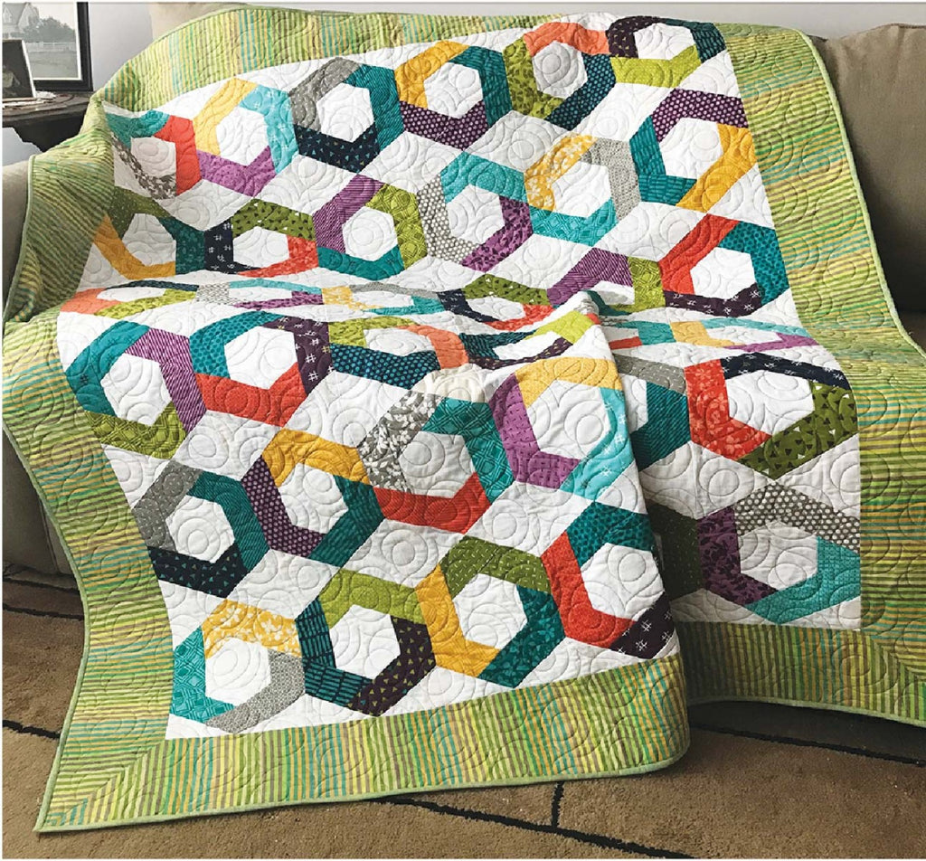 Hexies Go Round Quilting Books Patterns And Notions