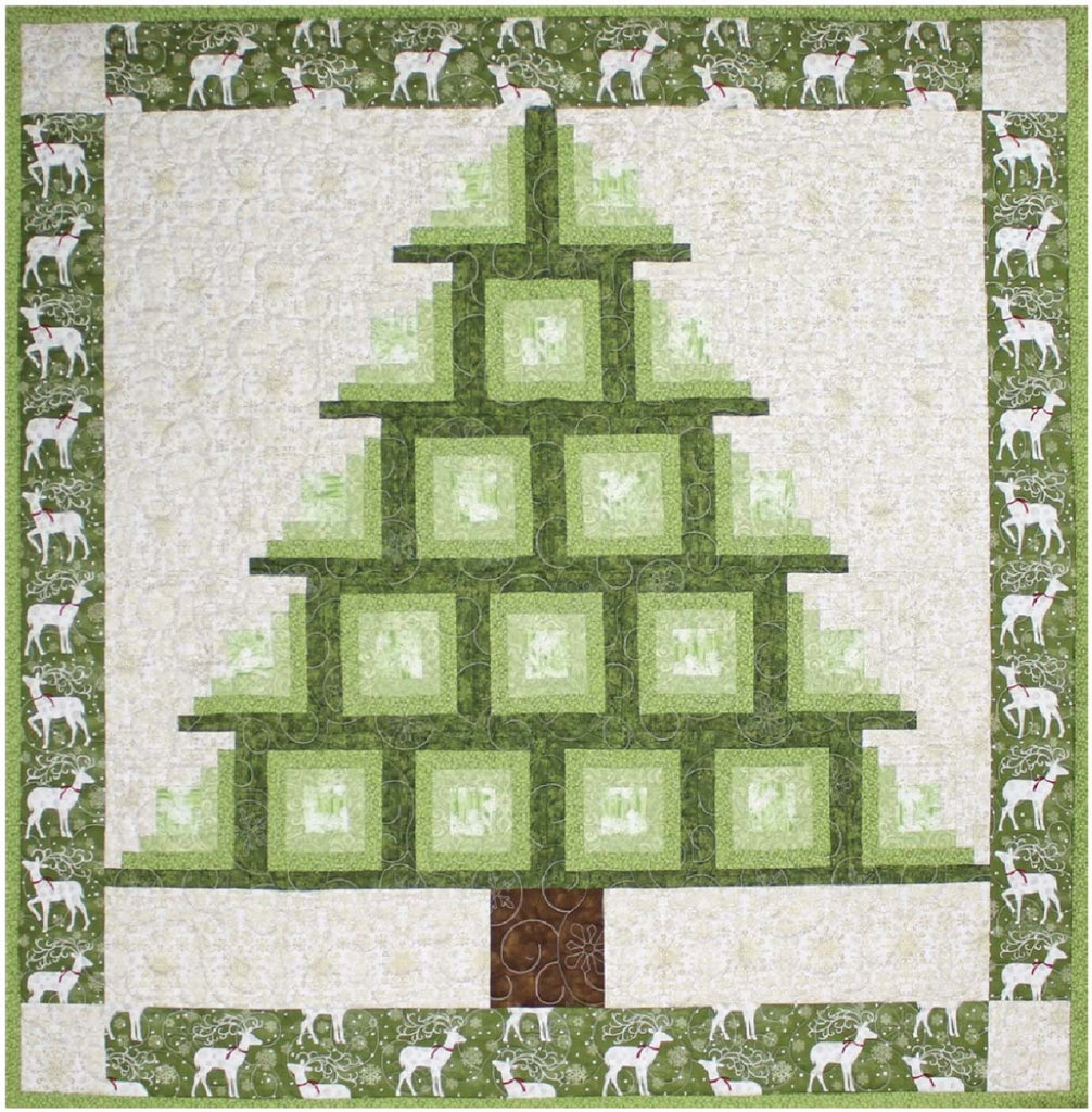 Log Cabin Tree Quilting Books Patterns And Notions