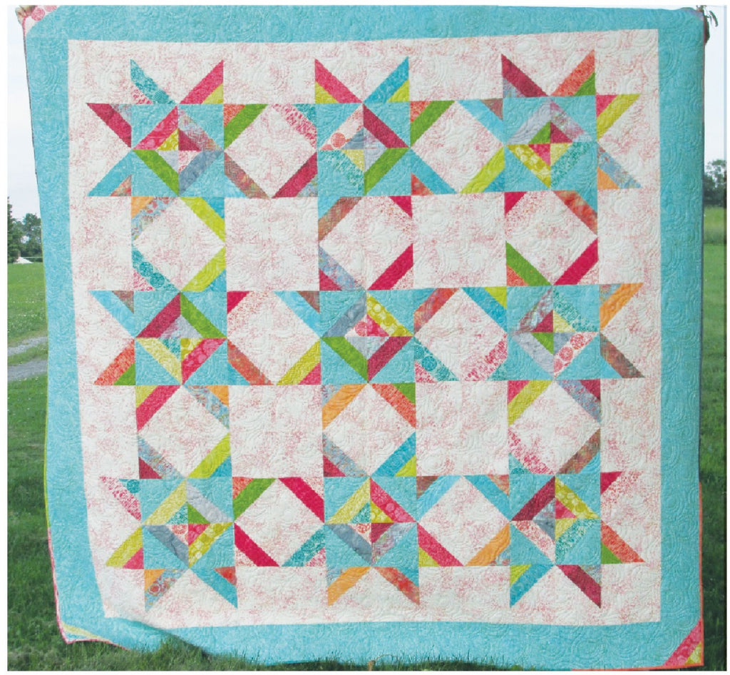 Double Strip Constellation Quilt