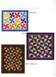 Half Log Cabin Quilts