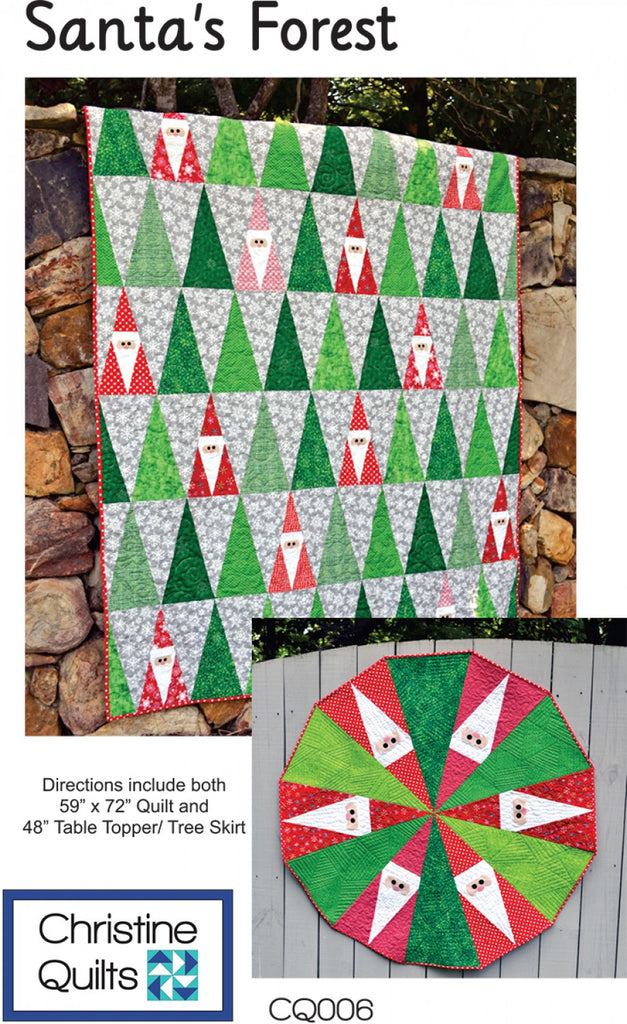Santas Forest Quilting Books Patterns And Notions