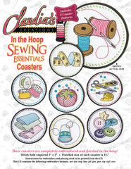 In The Hoop Sewing Coasters