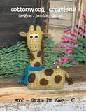 Giraffe Pin Keep Pattern