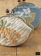 Yoko Saito and Quilt Party Present Captivating Quilt Projects