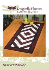 Bracket Brigade Table Runner Pattern Card