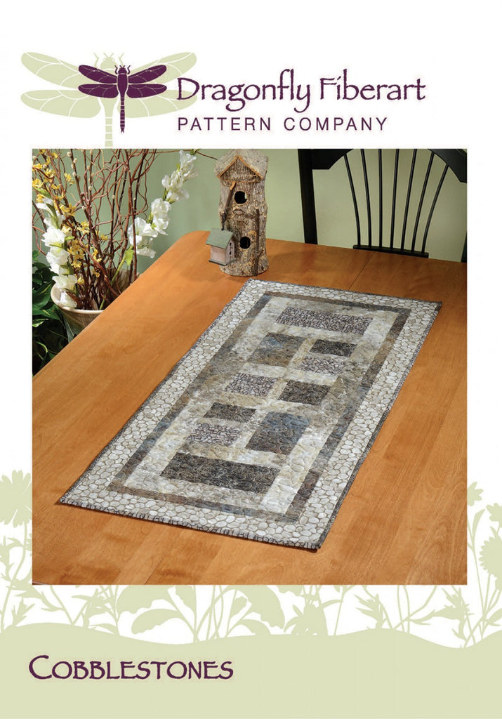 Cobblestones Table Runner Pattern Card
