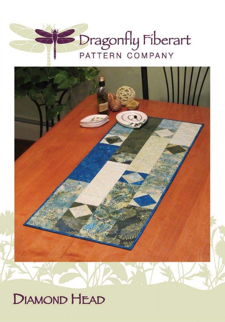 Diamond Head Table Runner Pattern Card