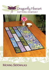 Moving Sidewalks Table Runner Pattern Card