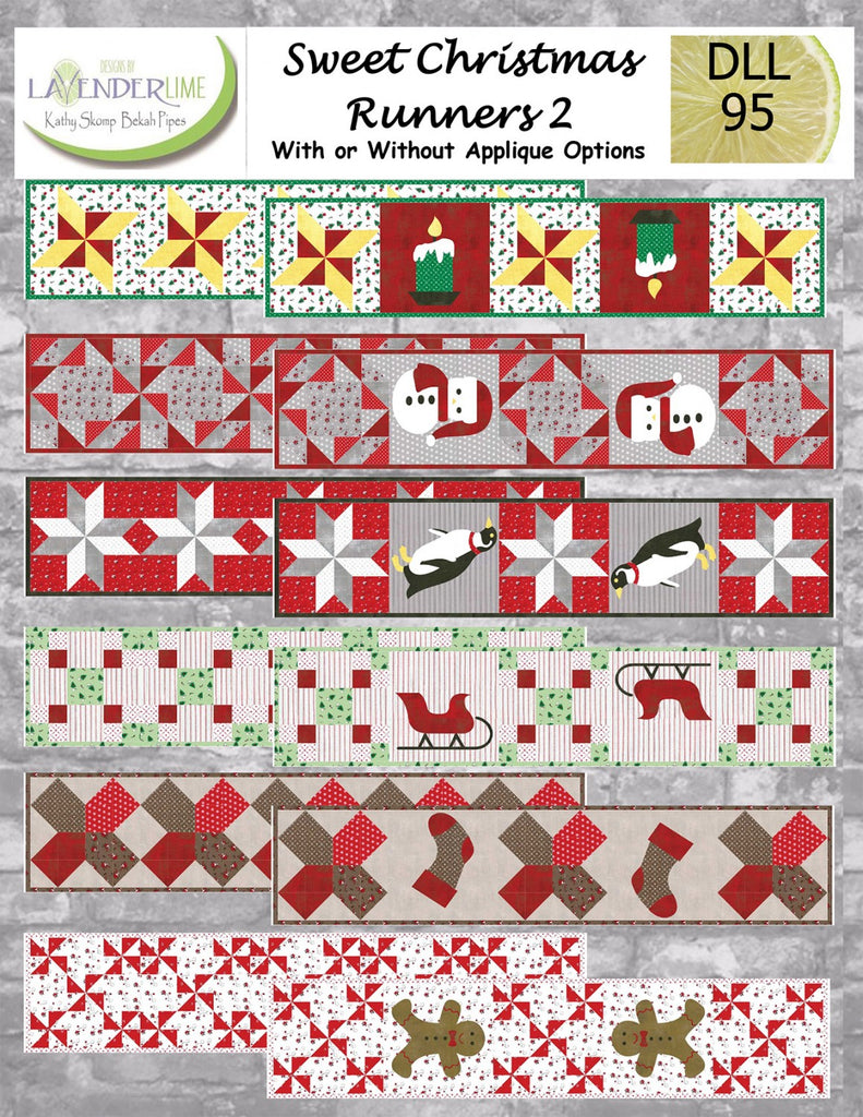 7d46a586192a3 Sweet Christmas Runners 2 – Quilting Books Patterns and Notions