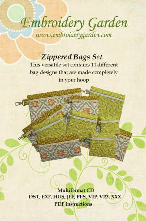 Zippered Bags Set CD