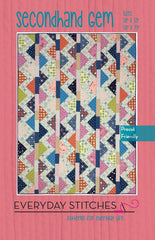Secondhand Gem Quilt Pattern