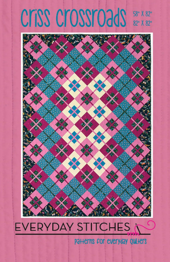 Criss Crossroads Quilt Pattern