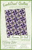 Morrocan Tile Fun & Done! Quilting Pattern