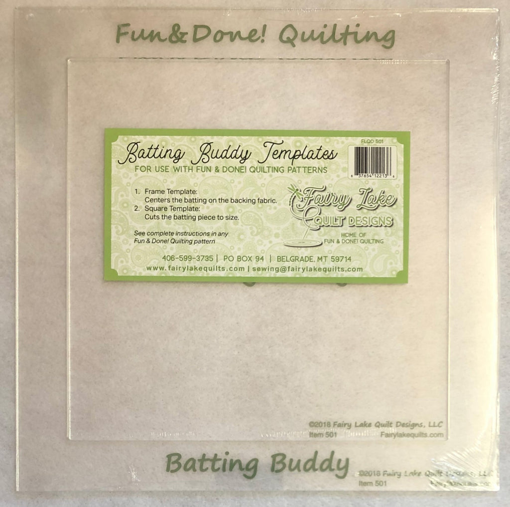 Fun & Done Batting Buddy Template Set