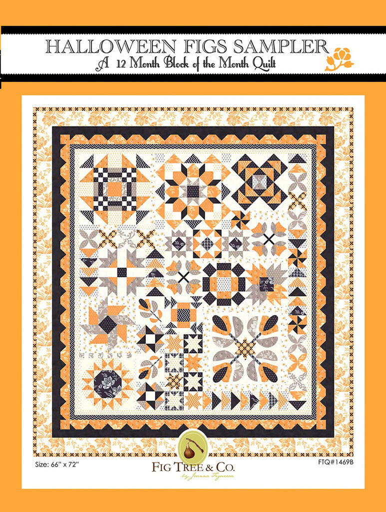 Halloween Figs Block Of The Month