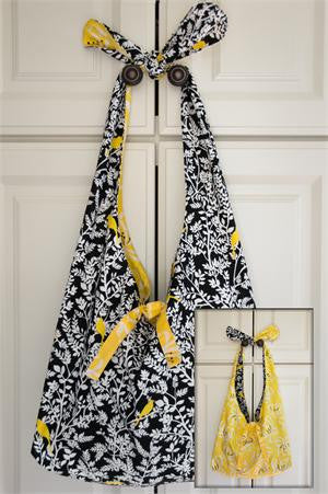 Knot Handle Reversible Tote