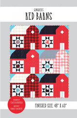 Red Barns Quilt Pattern