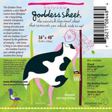 Goddess Pressing Sheet Holy Cow 36in x 48in