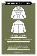 Thayer Jacket Sizes 14-30