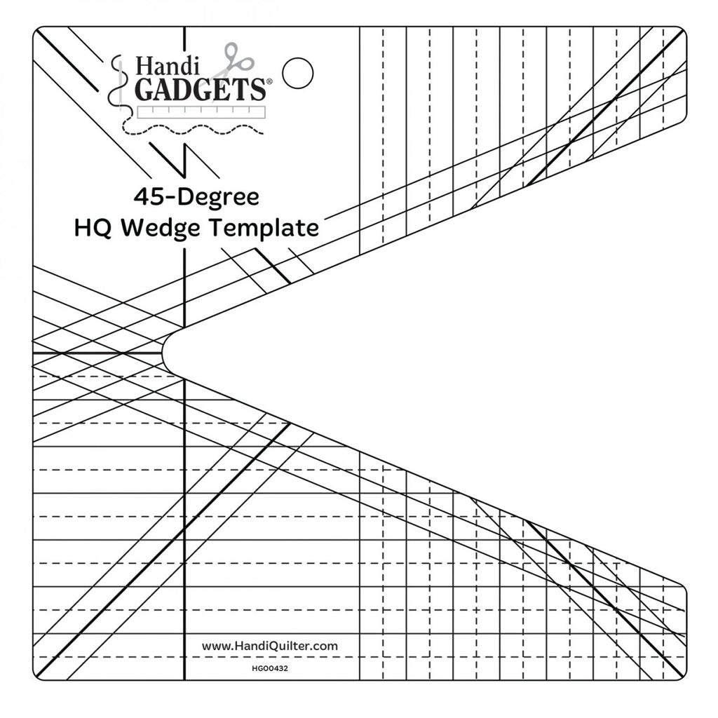45 Degree Wedge Ruler