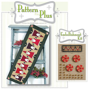 Topsy Turvey Santa Pattern Pak Plus