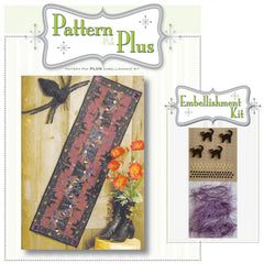 Topsy Turvey Witch Pattern Pak Plus