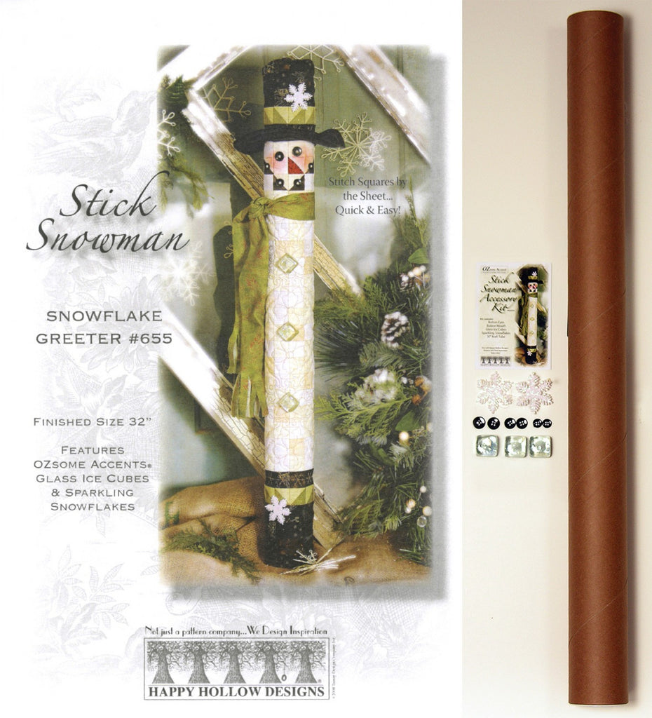 Stick Snowman Pattern Pak Plus