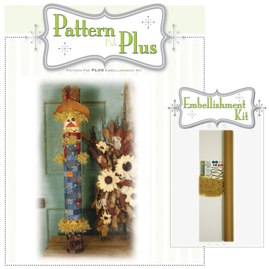 Stick Scarecrow Pattern Pak Plus