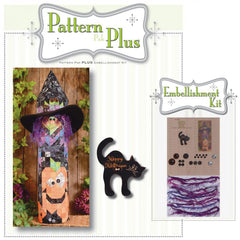 Witch & Pumpkin Post Pattern Pak Plus