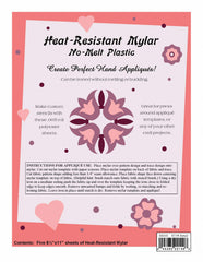 Heat Resistant Mylar Template Sheet