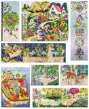 In Full Bloom Complete Truly McKenna Art Print Panel Set