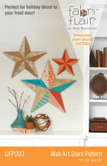 Wall Art Stars Fabriflair Pattern