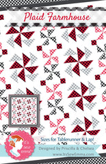 Plaid Farmhouse Quilt Pattern