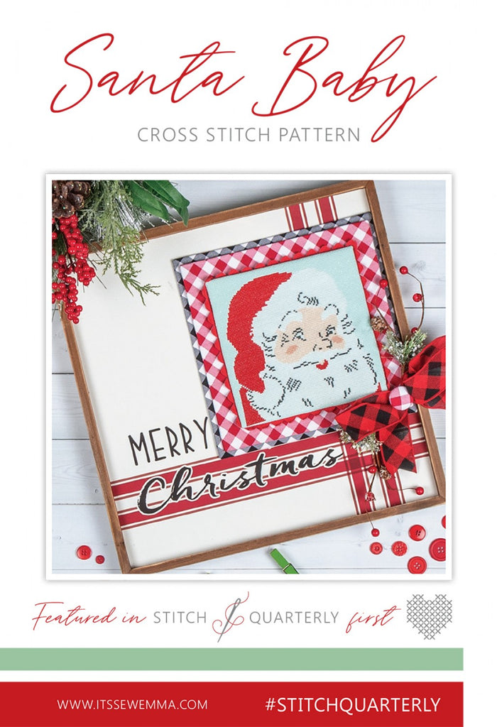 Santa Baby Cross Stitch Pattern