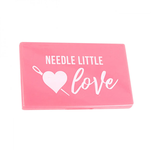 Needle Little Love Pink Magnetic Needle Case