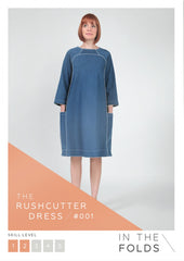 The Rushcutter Dress Printed Pattern