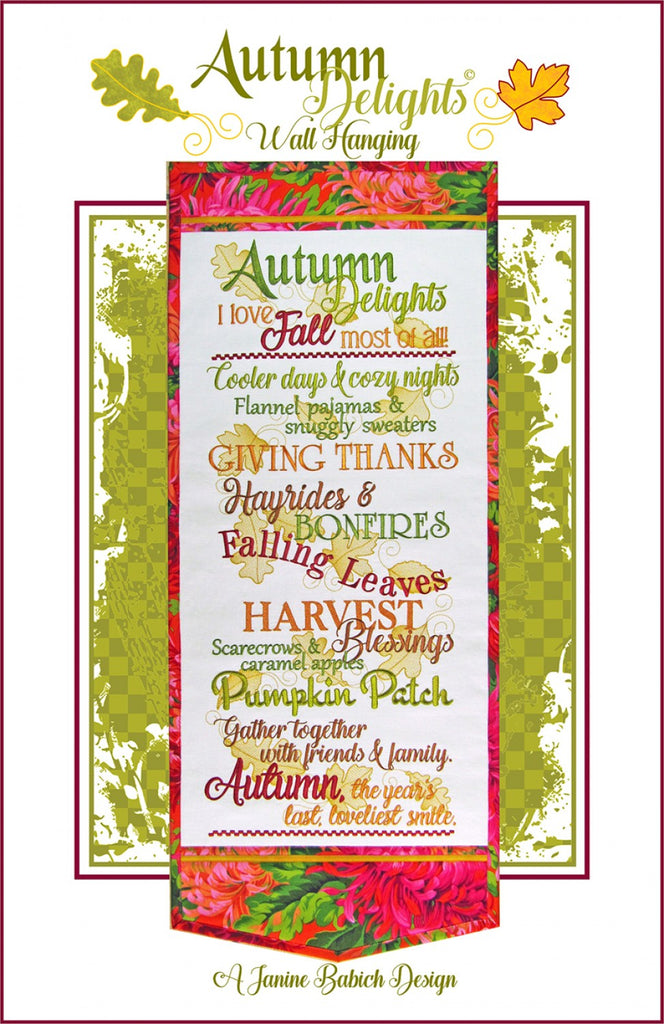 Autumn Delights Wall Hanging