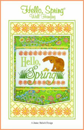 Hello Spring Wall Hanging