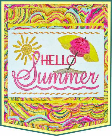 Hello Summer Wall Hanging