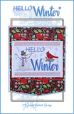 Hello Winter Wall Hanging