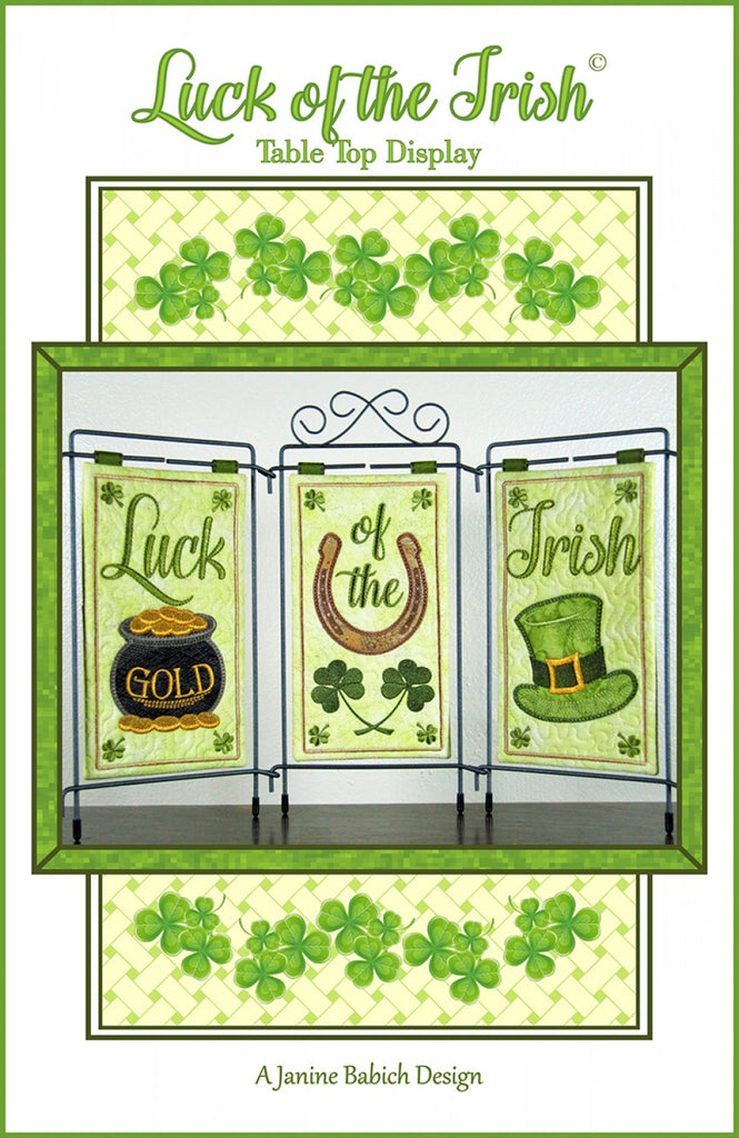 CD Luck Of The Irish Table Top Display